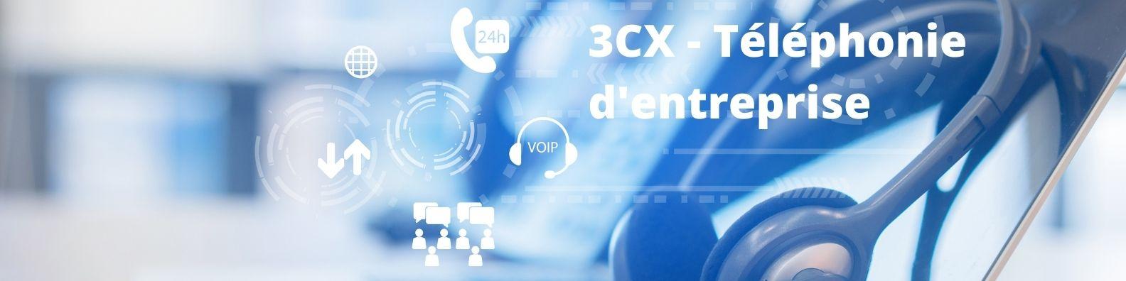 3CX Standard téléphonique